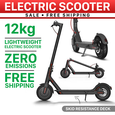 300W Portable Electric Scooter Foldable Adult/Kids Light Compact Commuter Bike