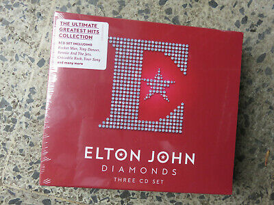 Elton John - Diamonds. The Ultimate Greatest Hits. 3 Cd Set. Brand New & Sealed.