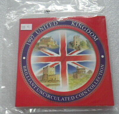 Great Britain 1997 Uncirculated Coin Set In Sealed Pack  (E)