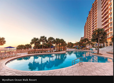 FL Wyndham Ocean Walk Daytona Beach 2 Br  August 8/12-16 x4Nights