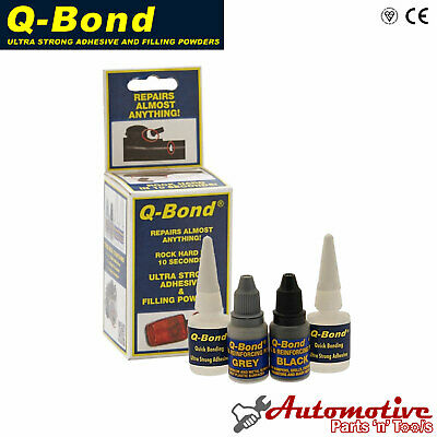Q Bond Ultra Strong Adhesive Filler Glue Super Strength Powder Kit QBond Q-Bond