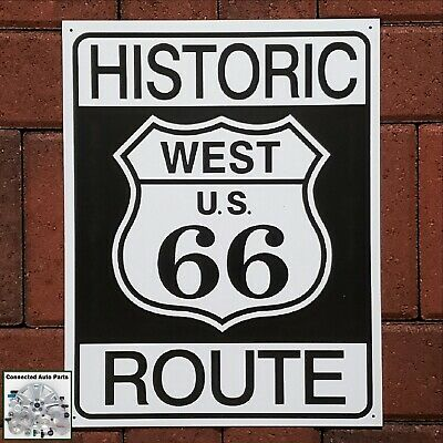 CALIFORNIA US ROUTE 66 Tin Sign Man Cave Street Sign Road Highway Plaque S-170