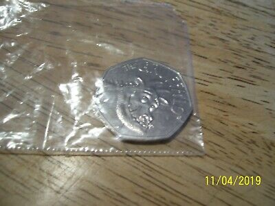 2019  The Gruffalo   50P  Coin,  Uncirculated;  See Pics;  Freepost;;