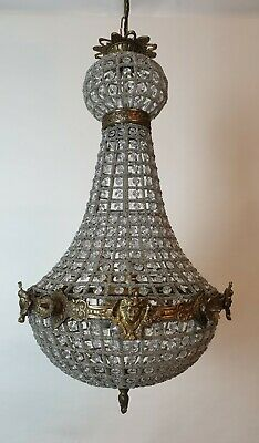 Medium Empire Style Chandelier; Rewired and Restored. FREE DELIVERY