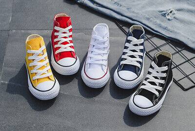Boys and Girls Children's Converse All-Star Low Top and High Top Canvas Shoes