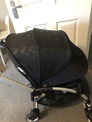 Bugaboo Bee 3 Limited Addition Black Chevrons Hood Extendable