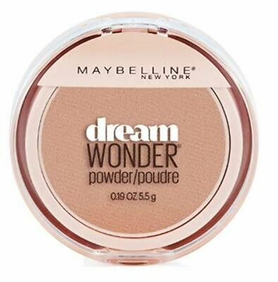 Set of 3 Maybelline Dream Wonder Compact Face Pressed Powder 50 Creamy Natural