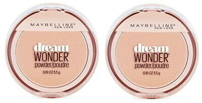 Set of 2 Maybelline Dream Wonder Compact Face Pressed Powder 15 Ivory