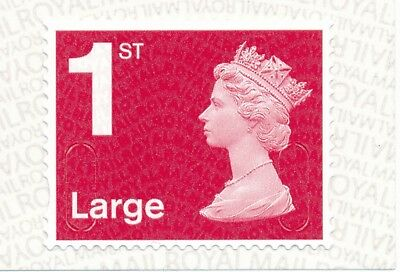 """2018 """"M18L""""-""""MBIL"""" 1st LARGE DEEP Red SBP2i - Single Stamp from Business Sheet"""