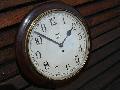 A lovely 1940s, Smith 8 day wall clock.