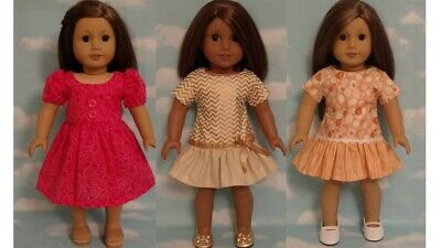 """18"""" Doll Dress fits 18 inch American Girl Doll Clothes 83abc"""