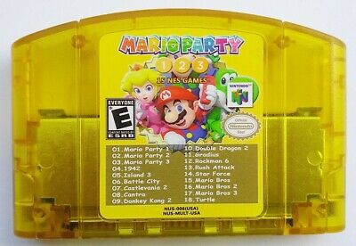 MARIO PARTY 2 N64 Nintendo 64 Game Case Box Cover Brand New