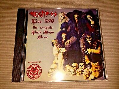 DEATH SS Live 1990 The Complete Black Mass Show CD