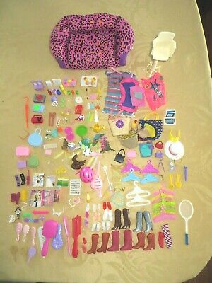 Vintage Barbie and Barbie Doll Size Shoes Boots Accessories Computer Food Phones