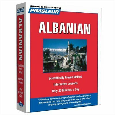 Pimsleur Albanian Level 1 CD Learn to Speak and Understand Alba... 9780743550581