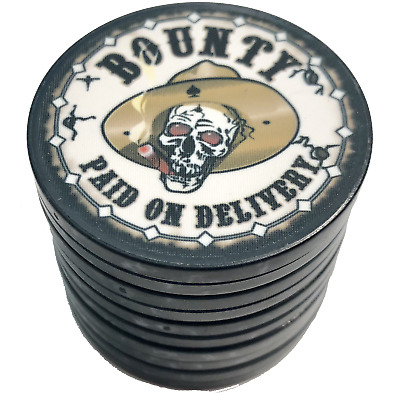 Nevada Jack Bounty Poker Chip Set of 10 Jacks NEW chips FREE US SHIPPING