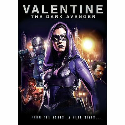 VALENTINE: THE DARK AVENGER - Blu-ray - Brand New, Factory Sealed w/ Slipcover