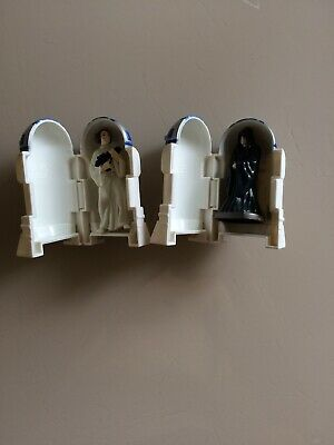 STAR WARS R2-D2 Lot  PRINCESS LEIA + Emperor Taco Bell  Figure COMPLETE 1996 PIC