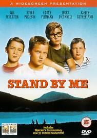 STAND BY ME DVD Classic 1980s Movie Film, Corey Feldman, River Phoenix R2 PAL