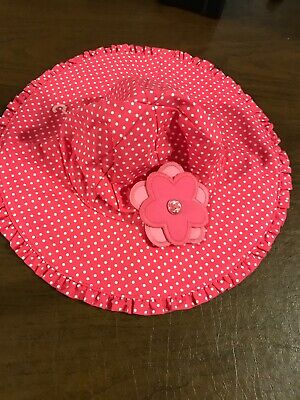 438c7965c GYMBOREE BABY TODDLER Girl Sun Hat 6 12 18 24 2T 3T 4T 5T NWT Retail ...