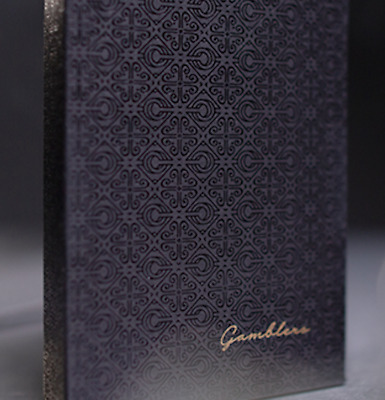 Gambler's Playing Cards (Borderless Black) by Christofer Lacoste and Drop Thirty