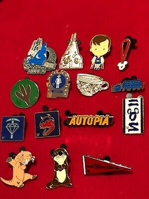 15 Disney pins Assorted Trading b  As Seen lot X