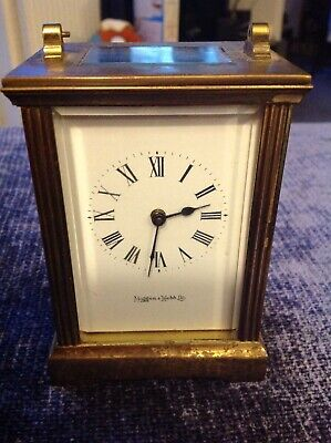 Mappin and Webb Carriage Clock Not In Working Order