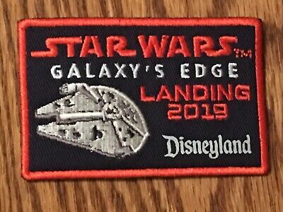 Disney Parks Disneyland Star Wars Galaxy's Edge Opening Day Landing 2019 Patch