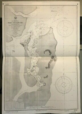 Brazil East Coast, South America Navigational Chart / Hydrographic Map # 1520