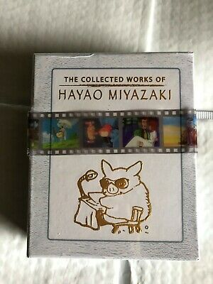 Hayao Miyazaki Blu-ray Collected Works Complete Box Set 12 Film Brand New