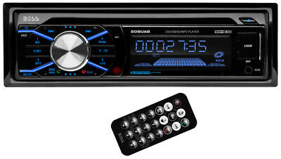 boss 508uab in dash cd car player usb mp3 stereo audio receiver bluetooth