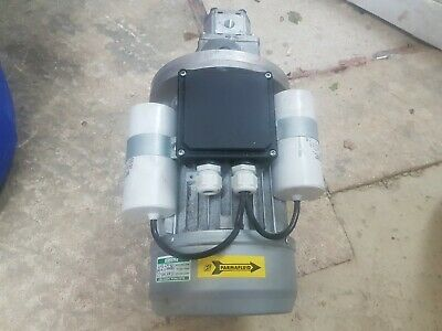 hydraulic pump and 110 volt motor