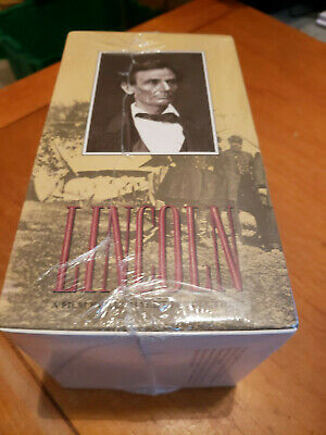 Lincoln film Kunhardt Productions VHS sealed 4 vintage new