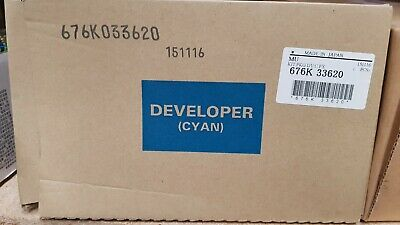 Genuine Xerox 676K33620 Dev Cyan PC 800 / PC 1000 Brand New See Photos