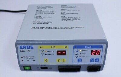 Erbe ICC 80 Electrosurgical Generator W/footswitch