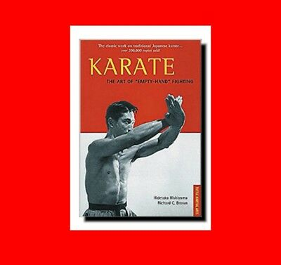 """Karate Book:the Martial Art Of""""Empty-Handed""""Fighting%Master Techniques+Theory+Mo"""