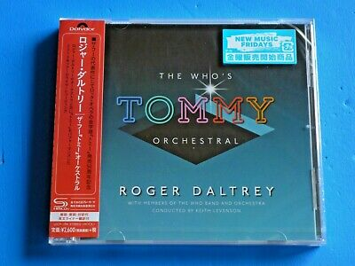 2019 Japan Shm Cd Roger Daltrey The Who's Tommy Orchestral 2018 Tour Live