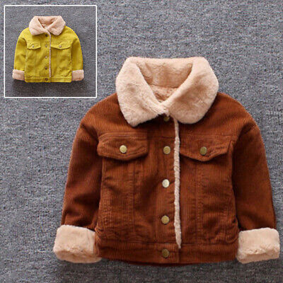 Coat Parka Jacket Outwear Padded Quilted Thicken Corduroy Windbreaker Clothing