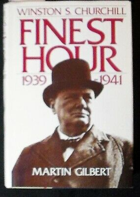 Winston S. Churchill, Vol VI: Finest Hour 1939-1941 Gilbert HB/DJ 1st FINE/VG+