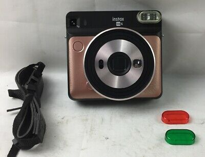 Fujifilm Instax SQUARE SQ6 Instant Film Camera Blush Gold - NB