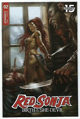 Red Sonja Birth Of A She Devil # 2 Cover A Dynamite NM