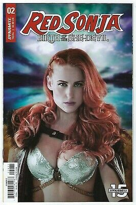 Red Sonja Birth Of A She Devil # 2 Cover C Dynamite NM