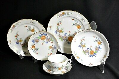 Hutschenreuther MANDALAY Floral 6 Pce setting for One