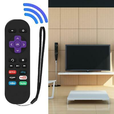 Replacement Remote Control for ROKU 1 2 3 4 LT HD XD XS with 6 Shortcut Button