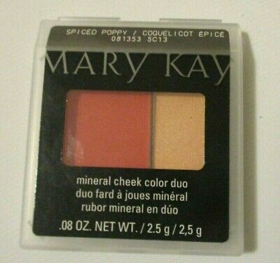 New Mary Kay Mineral Cheek Color Duo - Pick you Shade - Free Fast Shipping