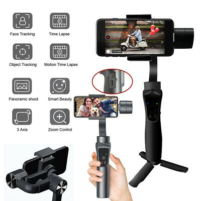 3 Axis Handheld Gimbal Video Stabilizer for Samsung iPhone Android Smartphone