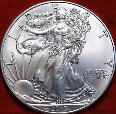 Uncirculated 2015 American Silver Eagle Dollar