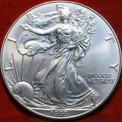 Uncirculated 1999 American Silver Eagle Dollar
