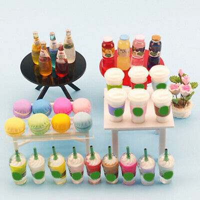 1/12 Dollhouse Miniature Furniture Table for kitchen Bedroom HU
