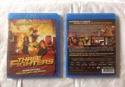Three Fighters   Blu-Ray Neuf Sous Blister